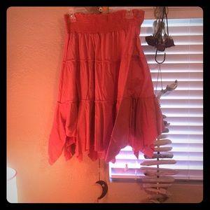 Speechless Boho Orange Skirt! Size medium